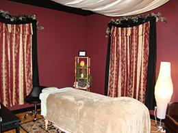 We offer professional massage therapy.