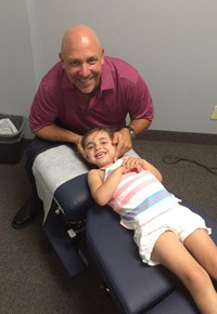 Southport Chiropractic  Adjusting Audrey
