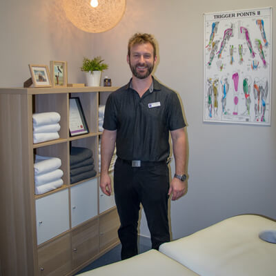 Marko, massage therapist at Forest Lake Chiropractic