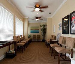 Lobby of Amato Chiropractic Wellness Center