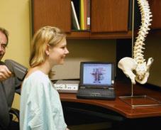 North York Chiropractor using the Insight Millenium Scan