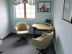 Consultation room at Seeds Of Hope Family Chiropractic