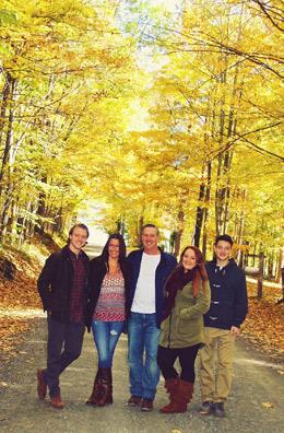 Dr. Gary's family