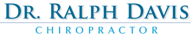 Dr. Ralph Davis, Chiropractor logo - Home