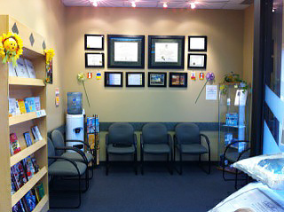 St. Vital Chiropractic waiting room