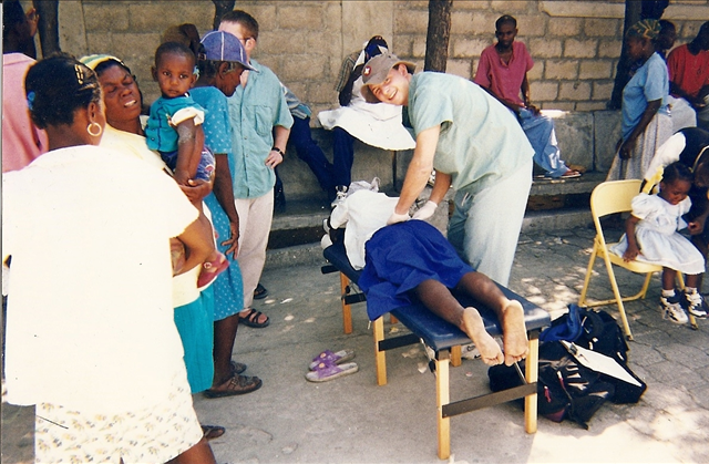 Brisbin Family Chiropractic chiropractors regularly visit needy patients around the world
