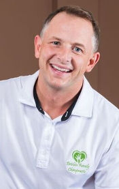 Sherwood Park chiropractor David Brisbin