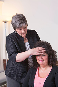 Dr. Mary Jane Horton adjusting