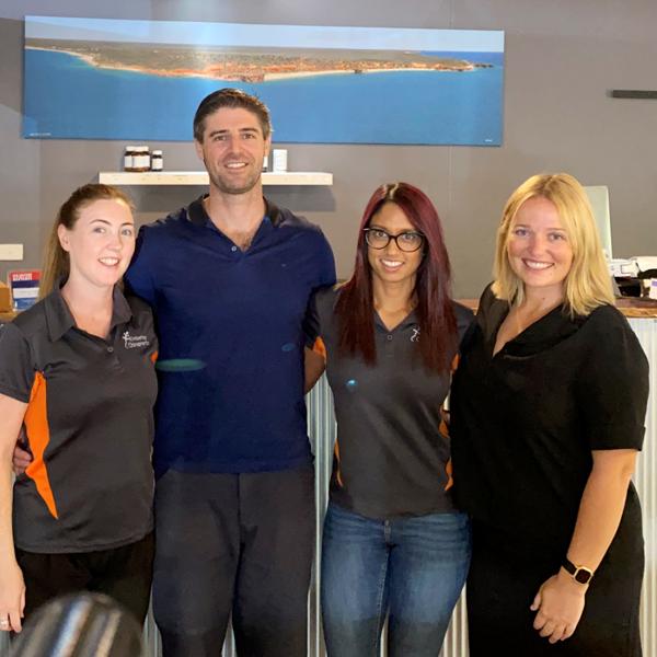 Kimberley Chiropractic Clinic team