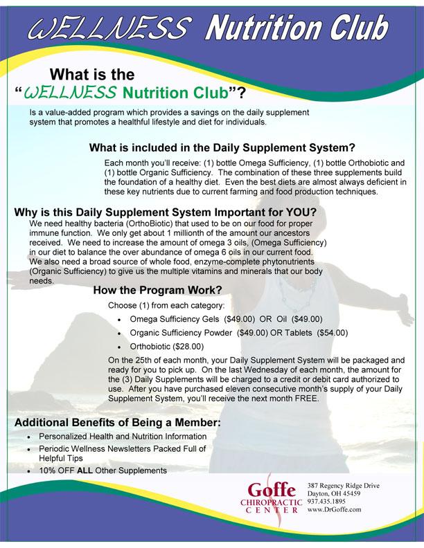 Wellness Nutrition Club