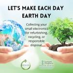 Earth day electronics drive