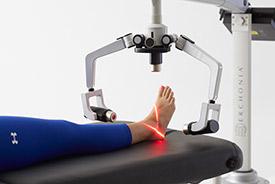 Foot laser image