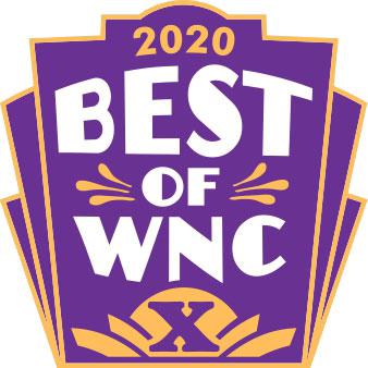 2020 Best of WNC logo