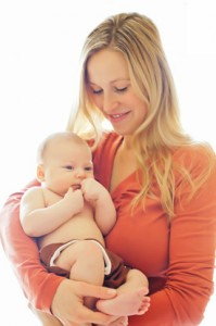 Wife and son of Derek Kasten, Asheville Chiropractor