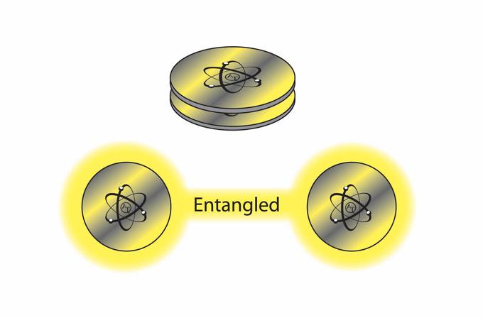 entangled image