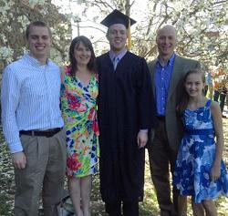 Dr. Bob Ashton and his family