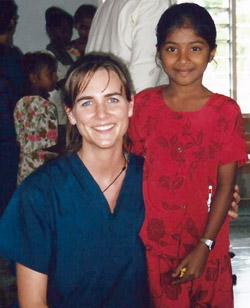 Dr. Corissa Audren, Medicine Hat Chirorpactor, in Fiji
