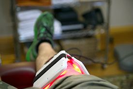 Springfield Chiropractor Dr. George Langlitz offers laser therapy