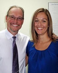 Dr. Darren McNaughton and Dr. Jenica Sorban