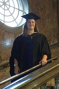 Hull Sports and Rehabilitation Therapist, Chloe Thacker