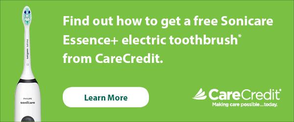CareCredit - Sonicare Offer