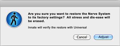 factory reset button
