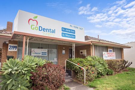 Exterior of Go Dental Surgery