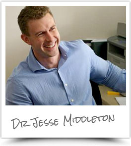 Bathurst chiropractor Dr. Jesse Middleton