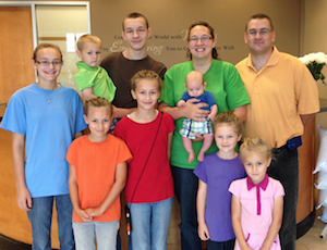 Learn about the Schindler family's story at The Chiropractic Wellness Connection in O`Fallon