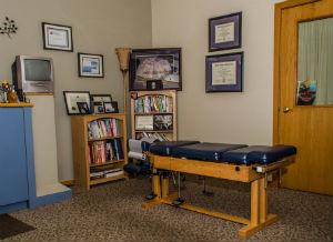 Janesville Chiropractic Examination room
