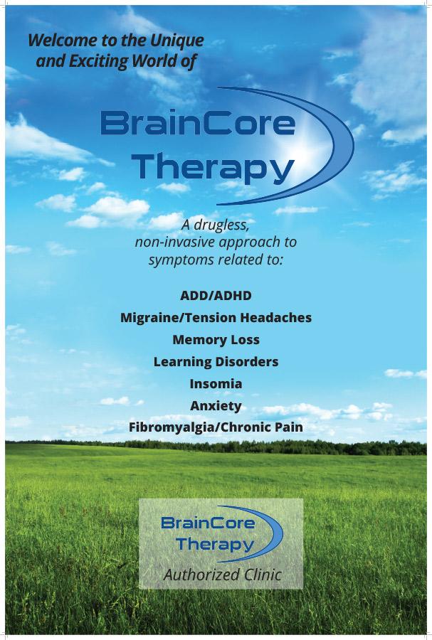 Braincore Therapy Poster