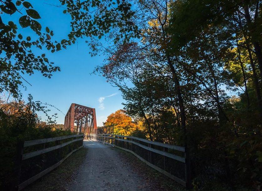 Montour Walking Trail in Pittsburgh