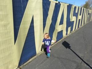 Washington Rose Cummins  Run Class Day 2016