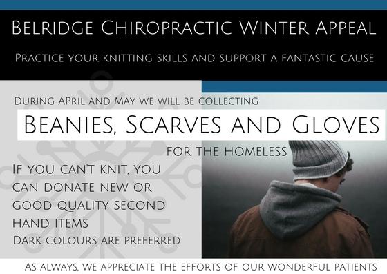 Belridge Chiropractic Winter Appeal