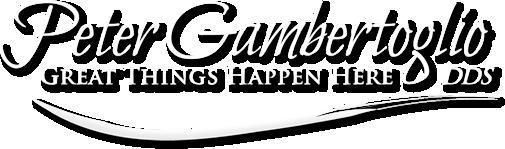 Peter Gambertoglio, DDS logo - Home