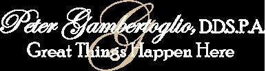 Peter Gambertoglio, DDS logo