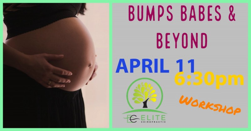 Bumps Babes & Beyond Event Flyer