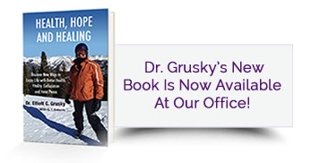 Dr. Grusky's book is now available in our office