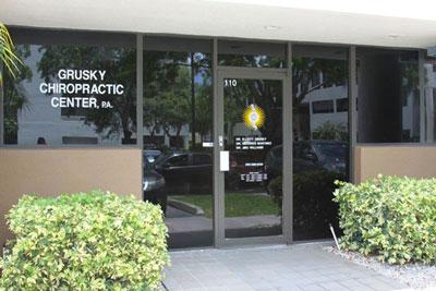 Grusky Chiropractic Center, PA - Miami