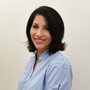 Jeannie Evans, Receptionist