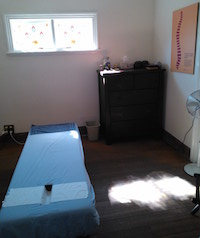 Treatment room at Longevity Chiropractic Armadale