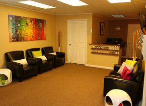 Disc Doctor Clinic Lobby