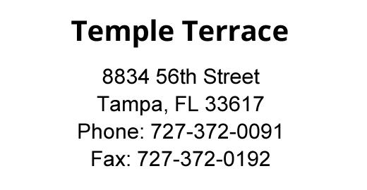 Temple Terrace location address.