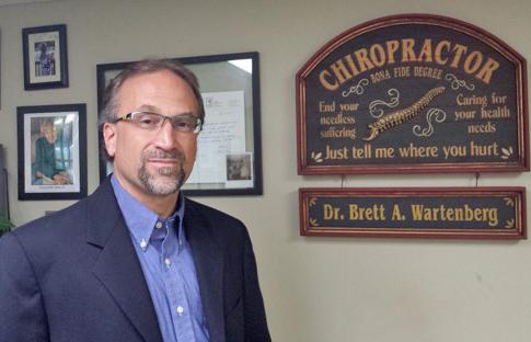 Medford chiropractor, Dr. Wartenberg