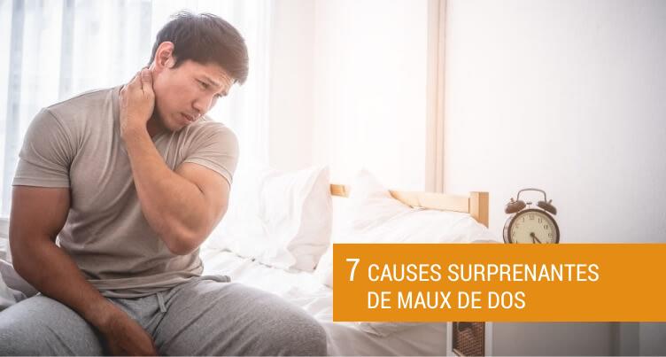 7 Causes Surprenantes De Maux De Dos