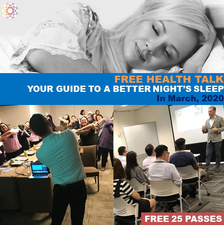 Free Health talk Flyer