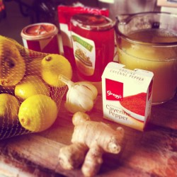 Simple, easy ingredients to make this powerful Immune Boosting Drink