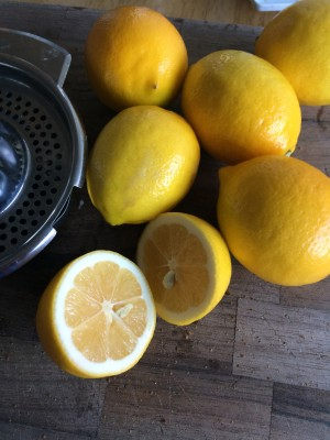 Drink plenty of fresh lemon juice with hot water
