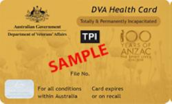 DVA Gold Card
