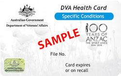 DVA White Card